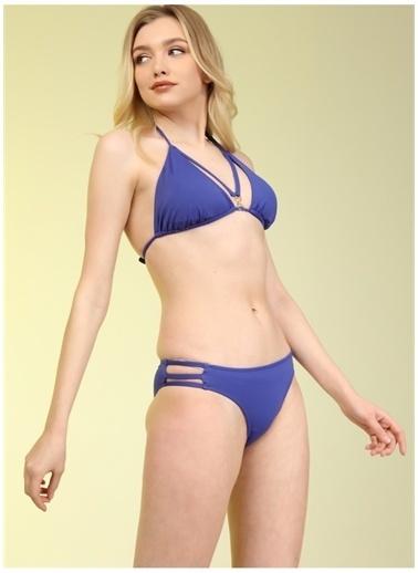 Bellisa Bellisa Saks Bikini Takım Saks